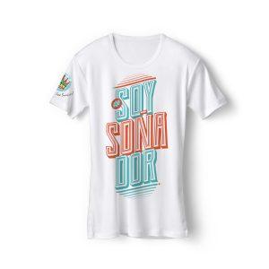 Camiseta soñador blanca El Arte de los Sueños