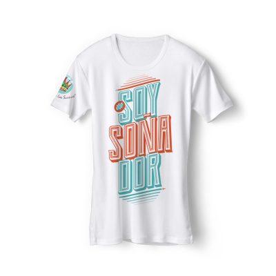 Merch El Arte de los Sueños - Camiseta blanca Soy soñador