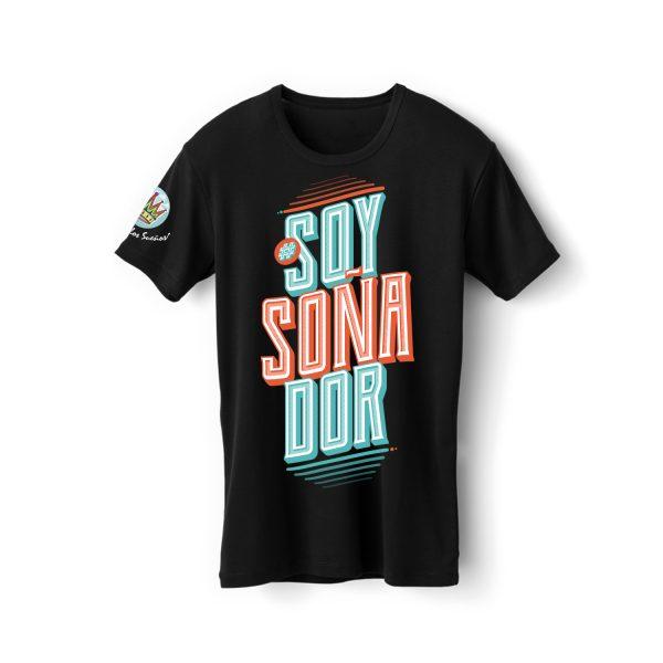 Merch El Arte de los Sueños - Camiseta negra Soy soñador